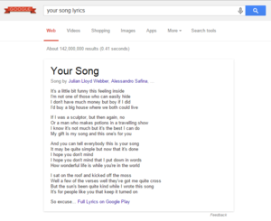 googlesonglyricresults