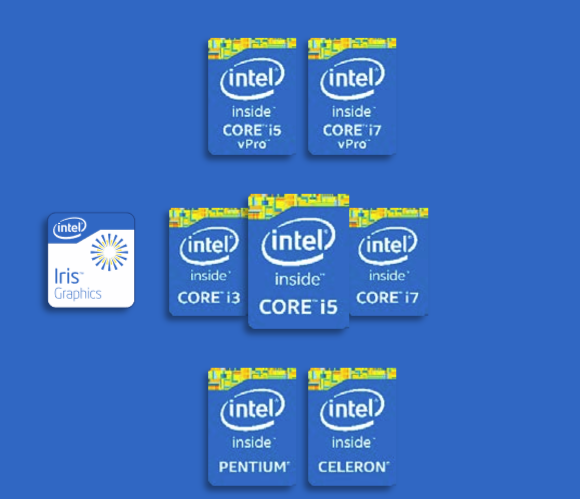 intel processor hierarchy