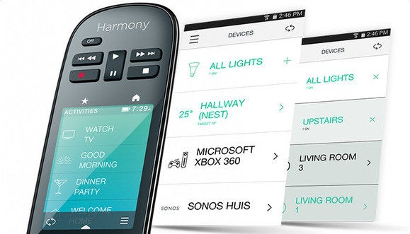 logitech harmony ultimate home android