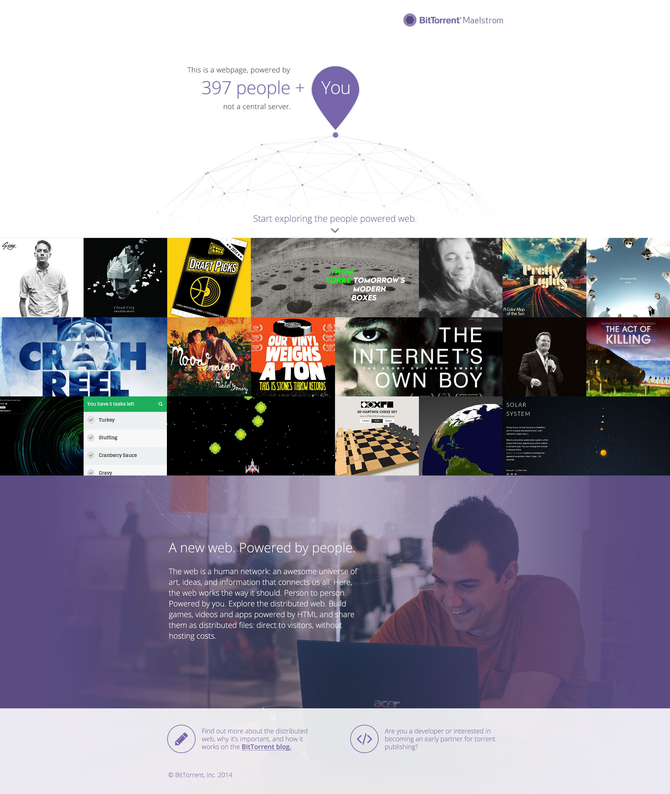 With Project Maelstrom, BitTorrent Wants to Create a P2P Browser