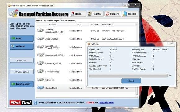 minitool power data recovery1