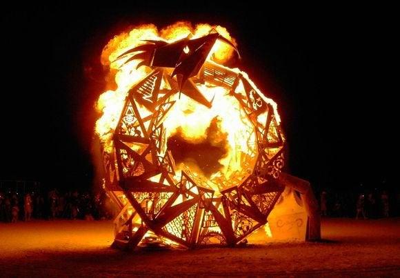 ouroboros burning