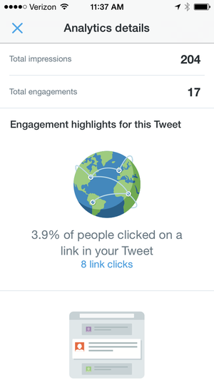 twitter ios analytics 500