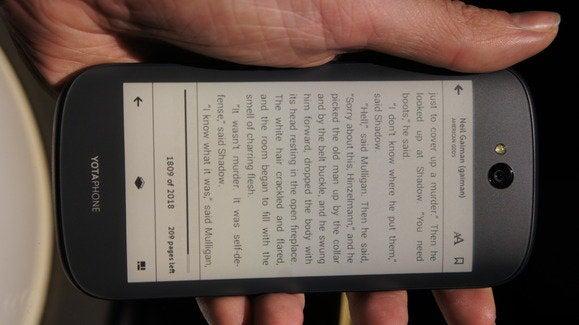 yotaphone e reader