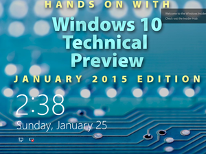 January 2015 Windows 10 beta