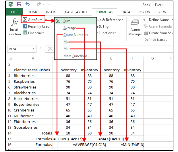 Ediblewildsus  Ravishing Your Excel Formulas Cheat Sheet  Tips For Calculations And  With Excellent Autosum In Excel With Divine Business Budget Excel Template Also Excel Formula For Hours Worked In Addition Phone Tree Template Excel And Where To Find Data Analysis In Excel As Well As Waterfall Plot Excel Additionally Reinstall Excel From Pcworldcom With Ediblewildsus  Excellent Your Excel Formulas Cheat Sheet  Tips For Calculations And  With Divine Autosum In Excel And Ravishing Business Budget Excel Template Also Excel Formula For Hours Worked In Addition Phone Tree Template Excel From Pcworldcom