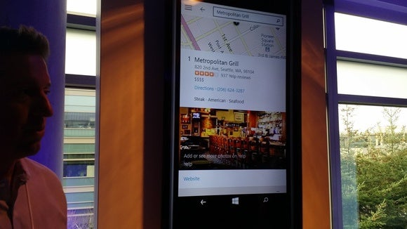 Windows 10 phones maps