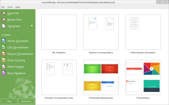600px libreoffice new templates