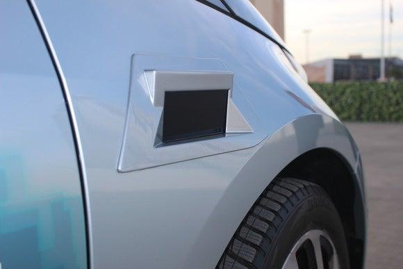 bmw remote valet parking assistant scanner detail