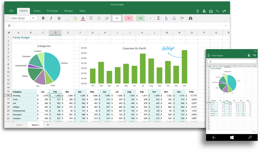 key features coming in excel 2016 for business intelligence