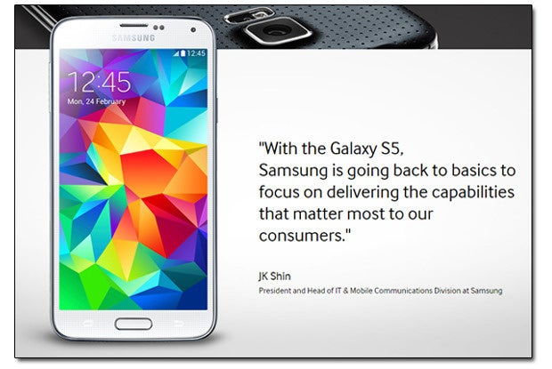 Galaxy S5 Quote
