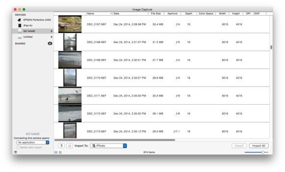 image capture overview