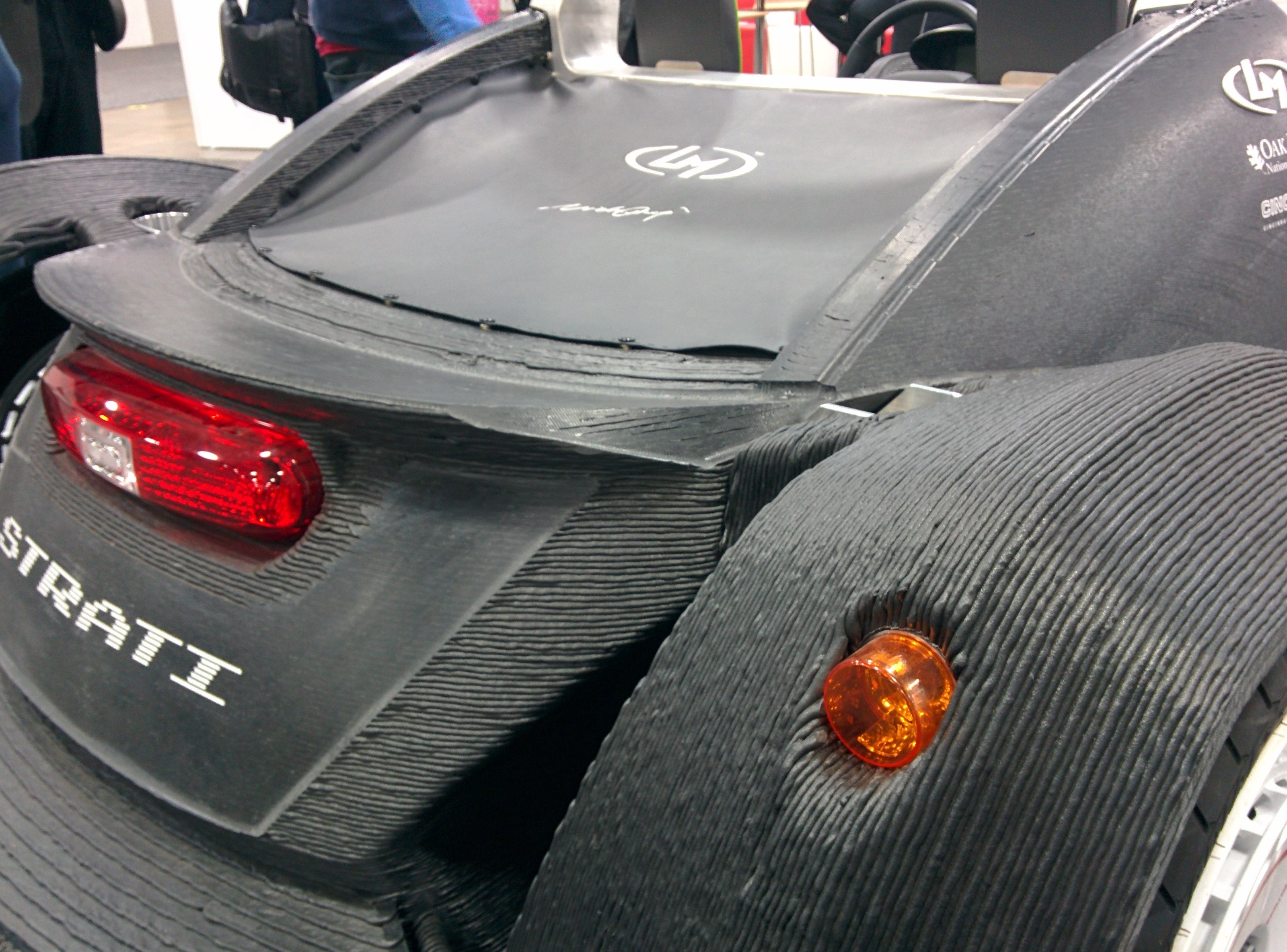 Local Motors 3d Prints A Car At The Detroit Motor Show Pcworld