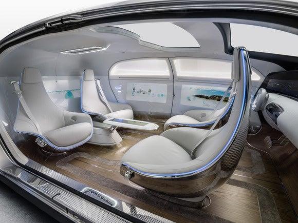 mercedes benz f015 interior