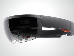 Microsoft HoloLens visor