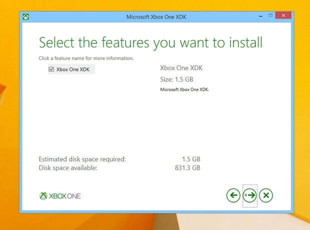 Microsoft Xbox One SDK install
