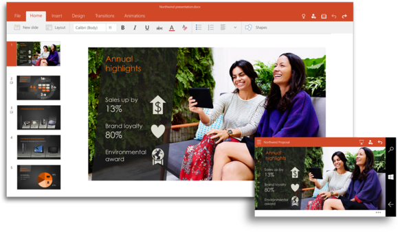 PowerPoint for Windows 10