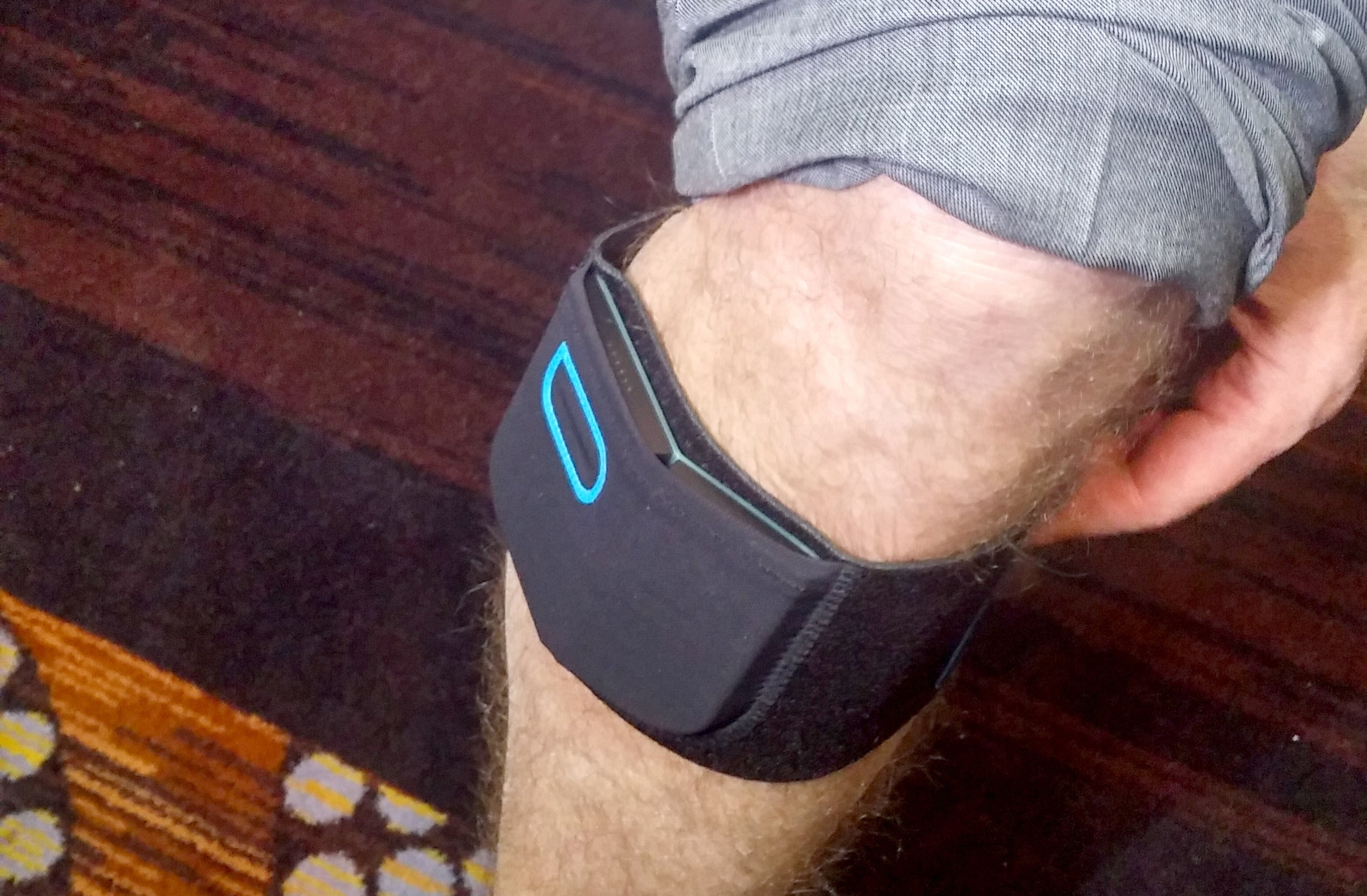 Quell is a wearable pain manager that stimulates your brain's natural ...: http://www.pcworld.com/article/2864855/quell-is-a-wearable-pain-manager-that-stimulates-your-brains-natural-opiates.html