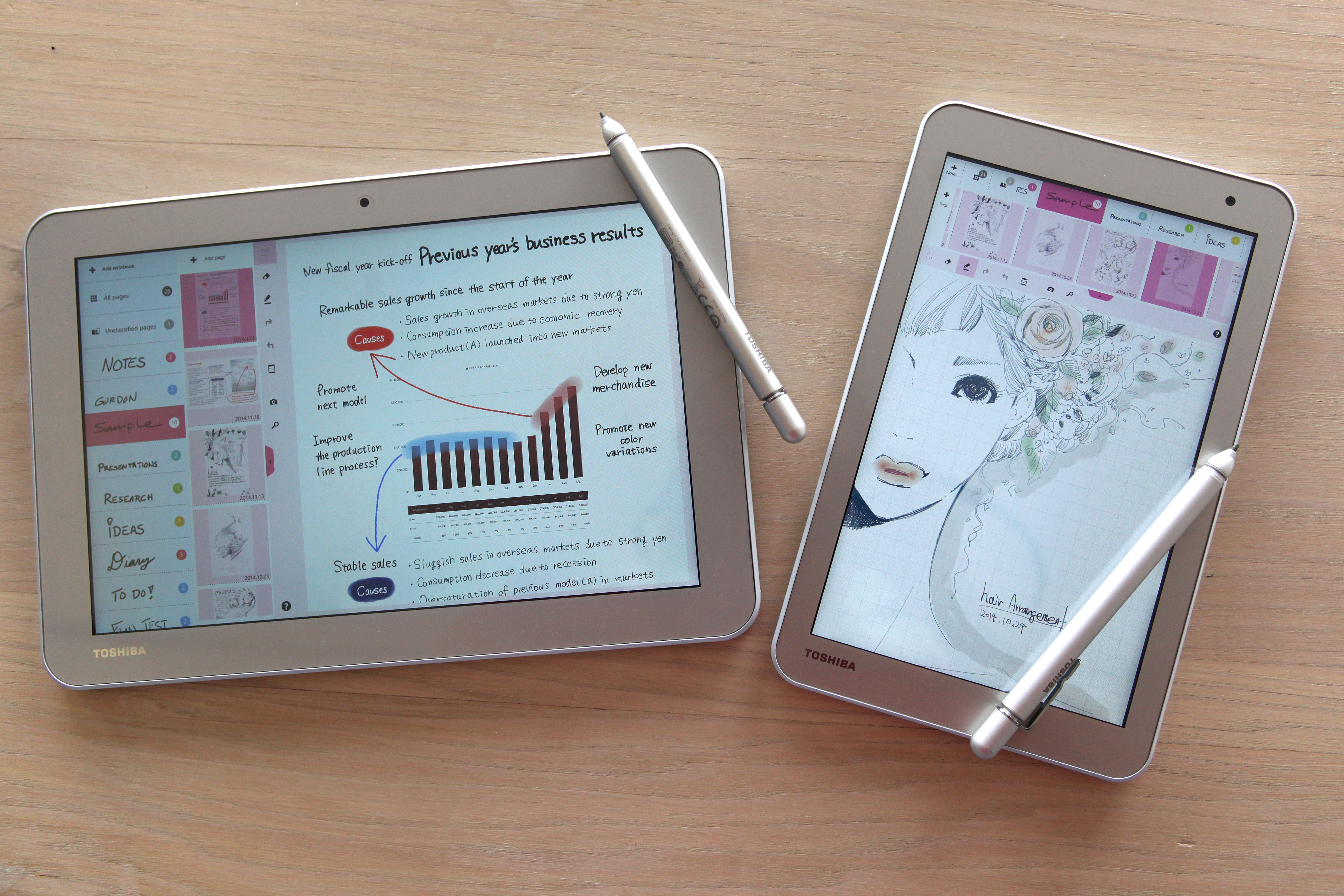 Toshiba embraces pen-based computing with new Windows tablets ...
