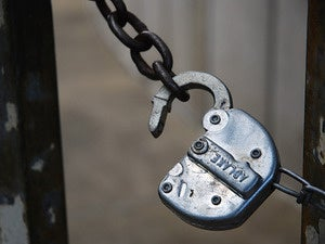 unlocked gate