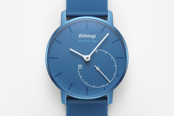 withings activit pop closeup brightazure