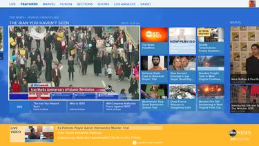 ABC News app on Xbox One