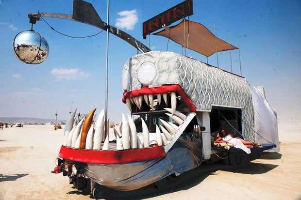 Burning Man cargo cult
