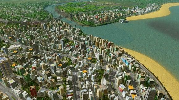 simcity 5 картинки городов