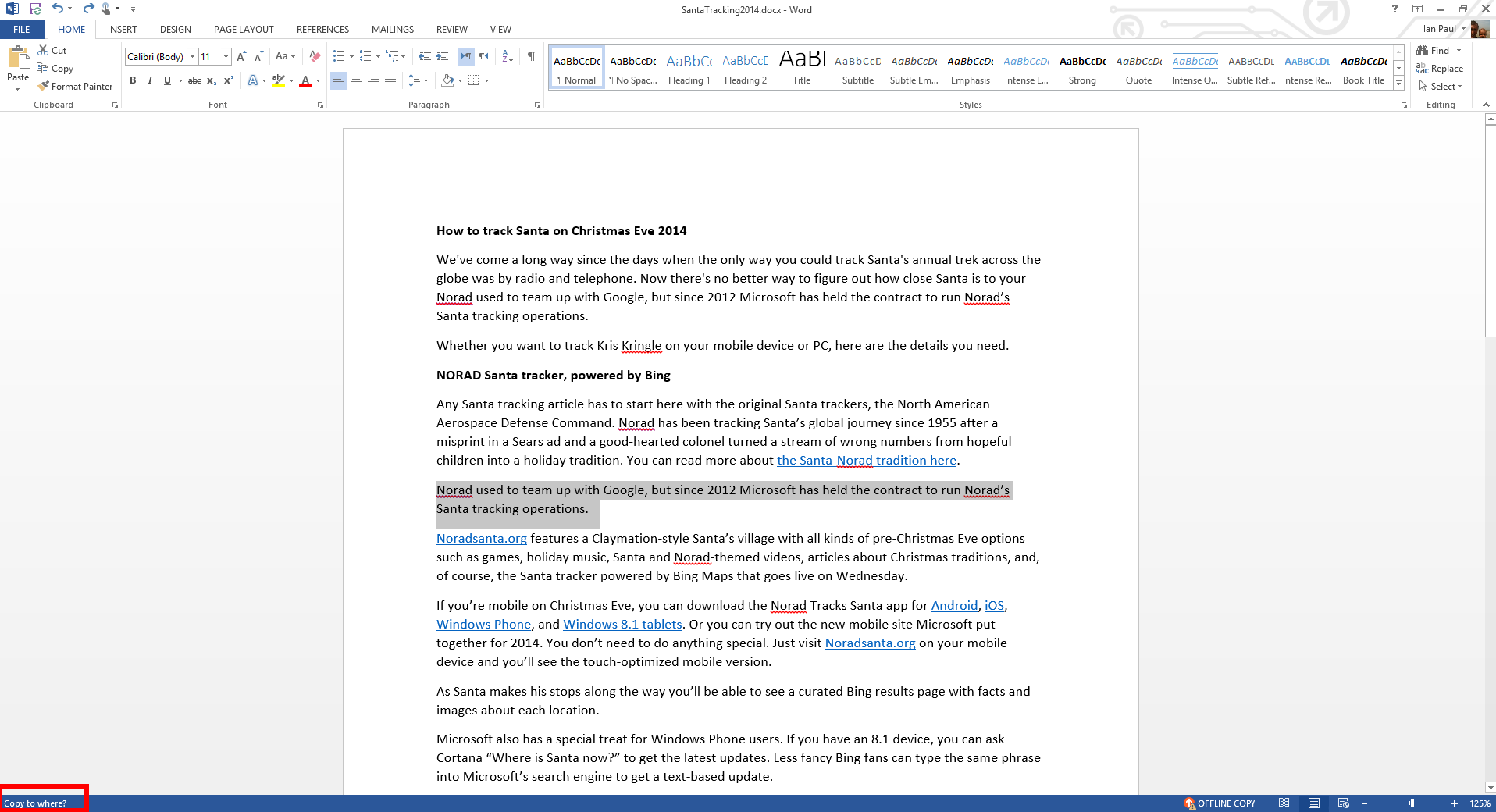 Word's Shift + F2 Is A Simple Way To Copy And Move Text Once (click To  Enlarge)