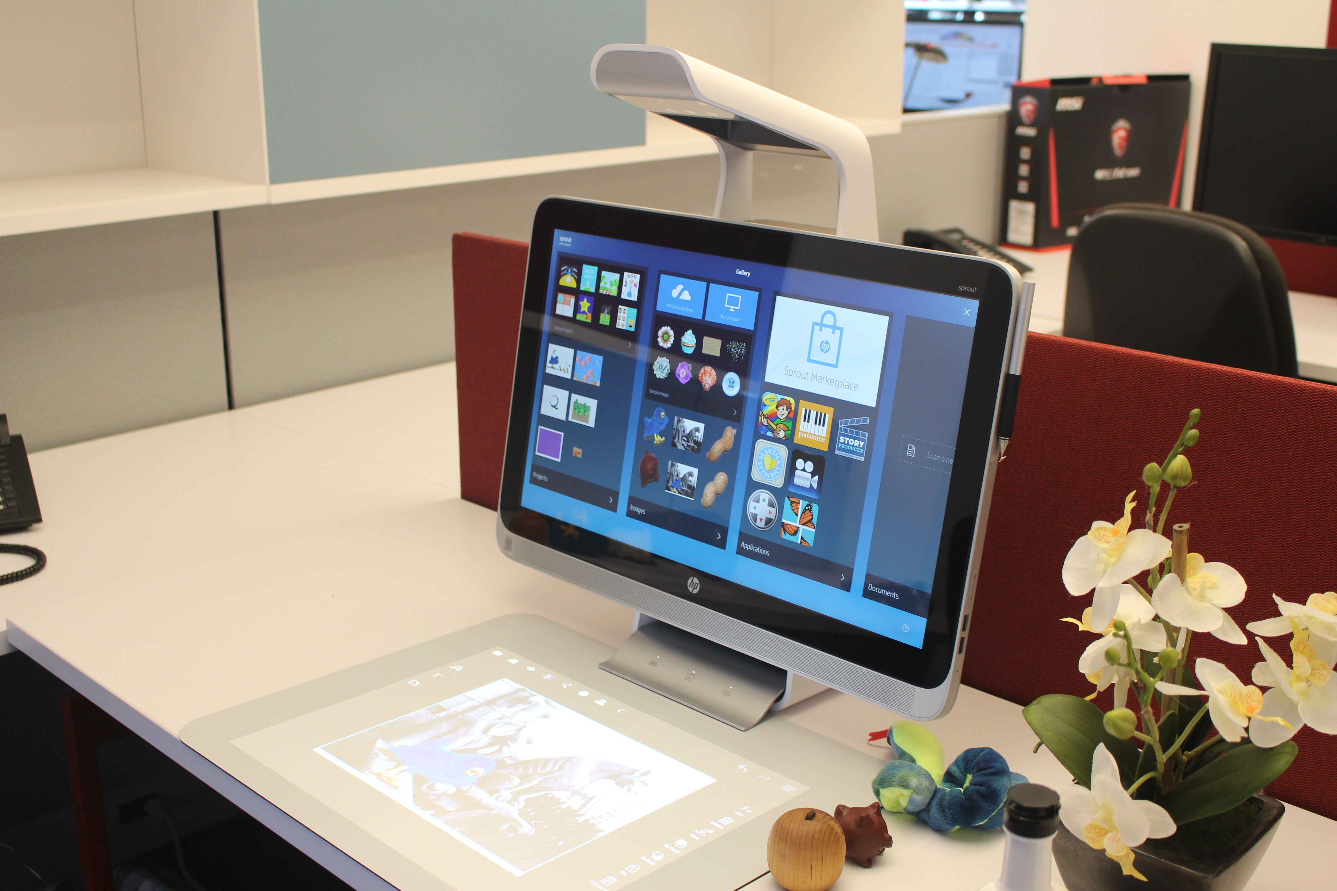 Hands-on with the HP Sprout, an imaging powerhouse built into a touch-friendly PC | PCWorld