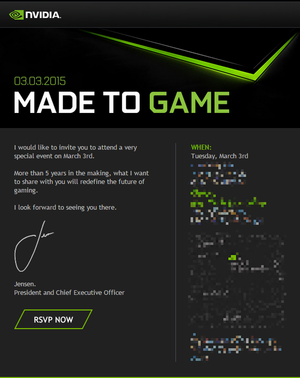 nvidia march 3 event