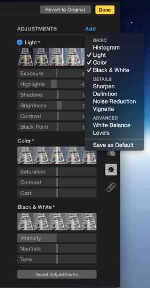 photos add options