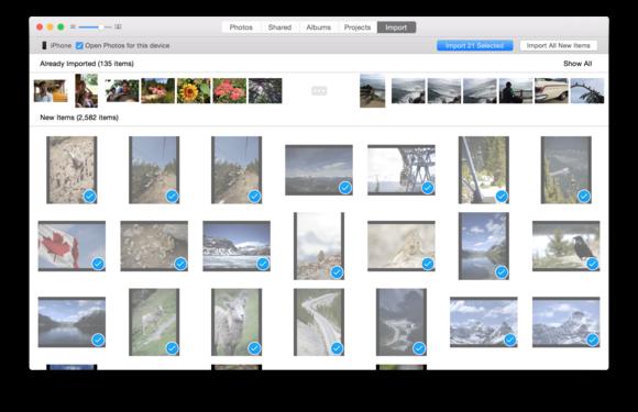 photos import
