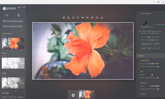 polarr chrome