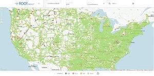 rootmetrics att 2h 2014 coverage map