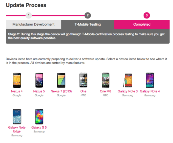 t mobile software updates