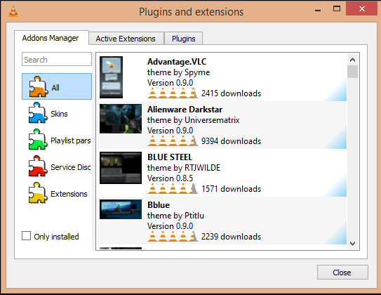 vlc update adds in app extensions resume playback