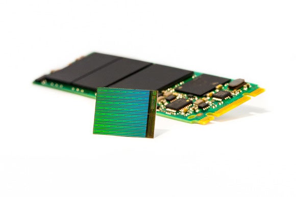 3d nand die with m2 ssd