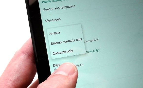 android notification tip priority mode 3
