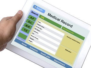 e health record thinkstock