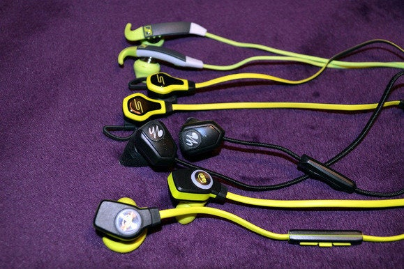 Fitness earbuds