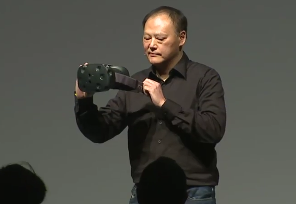 htc vive peter chou display