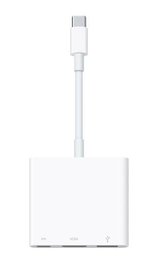 macbook av digital adapter