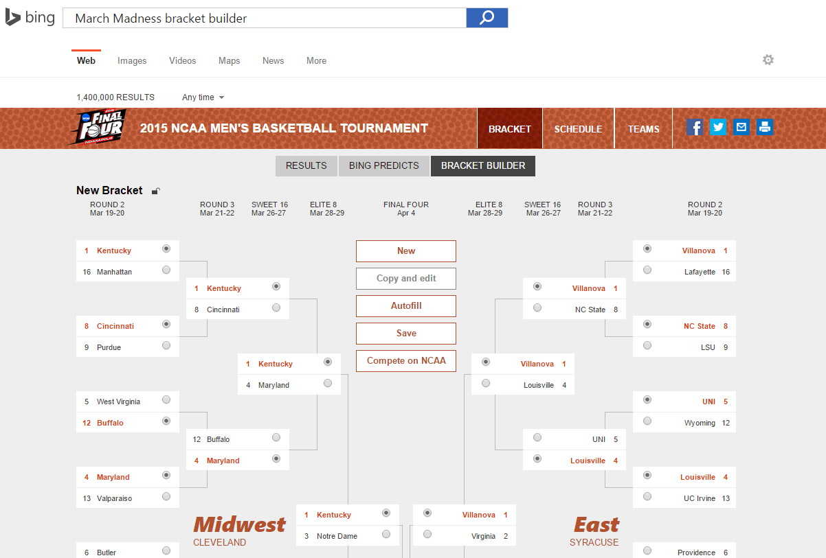 ... 2016 presidential election after predicting NCAA brackets | PCWorld