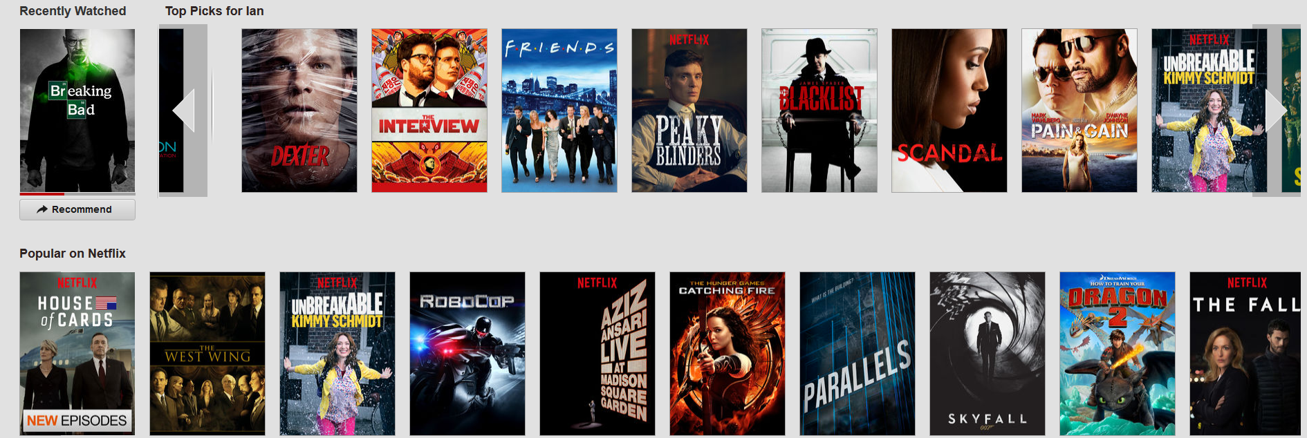 What to watch on Netflix (2015) - show recommendations & reviews ...