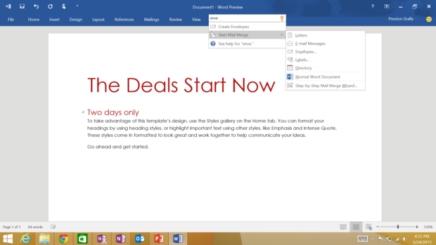 Windows10up.com Download Free Microsoft Office 2016 for enterprise hints at easy searching, colorful