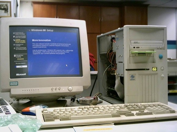 old desktop pc