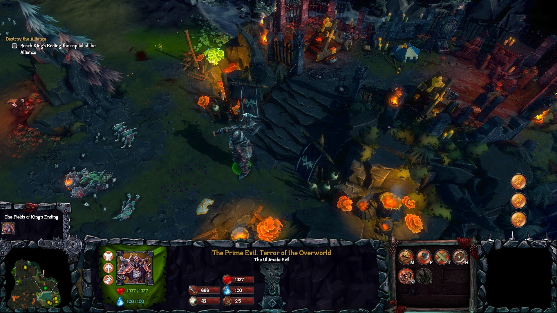 dungeons 2 how to use hospital