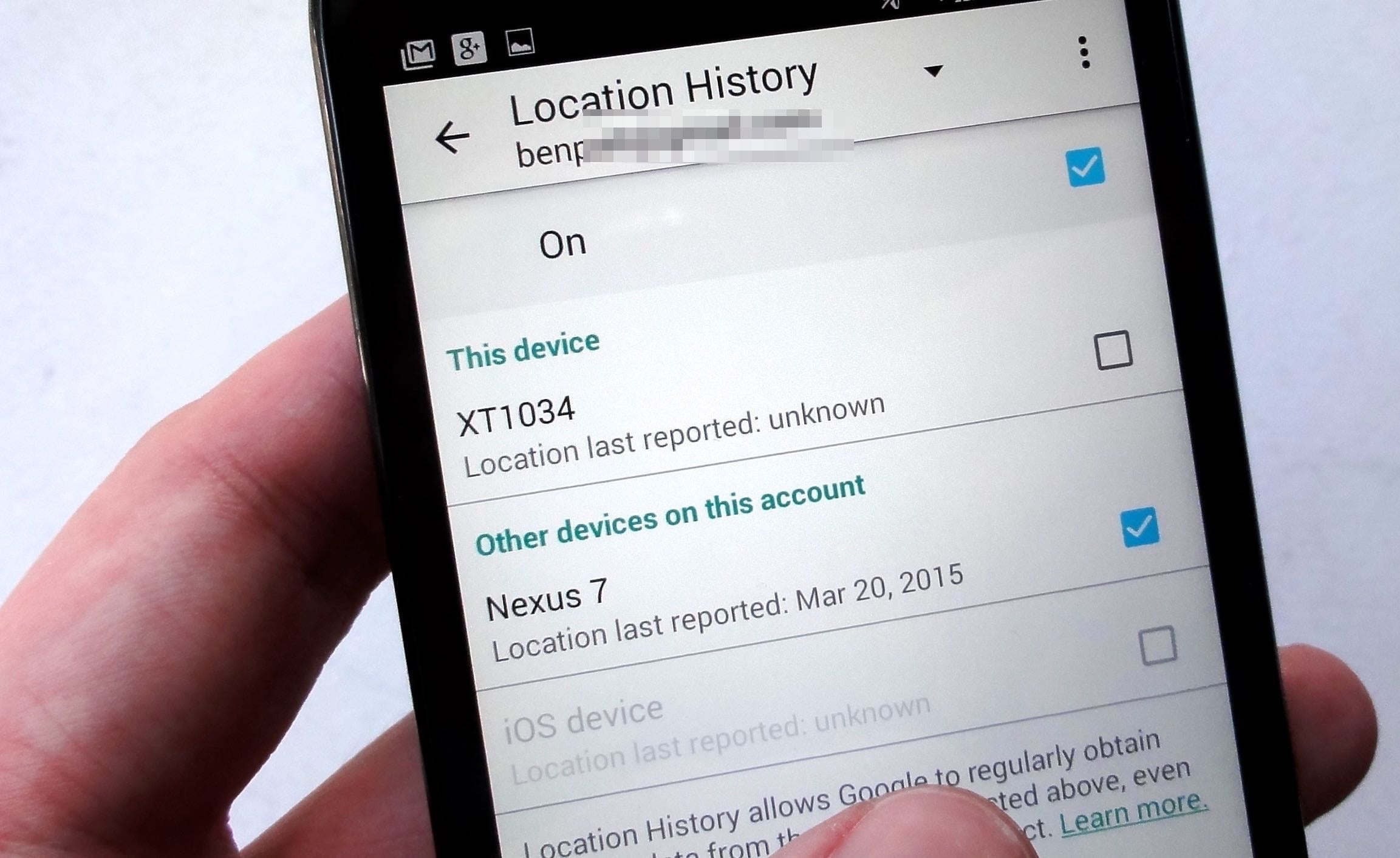 Android Device Watching You Turn Off Location History 4