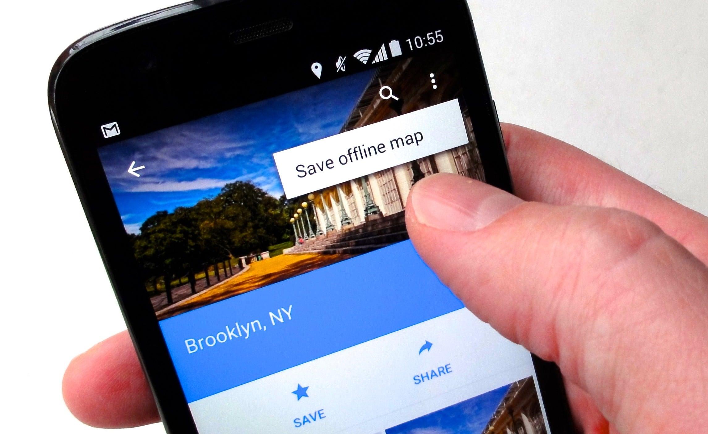 offline google maps